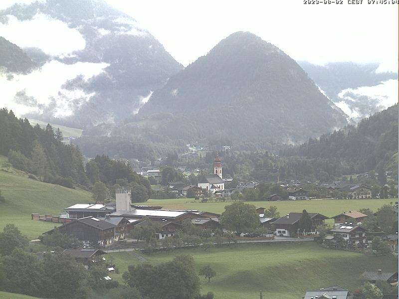 Unken im Salzburger Saalachtal